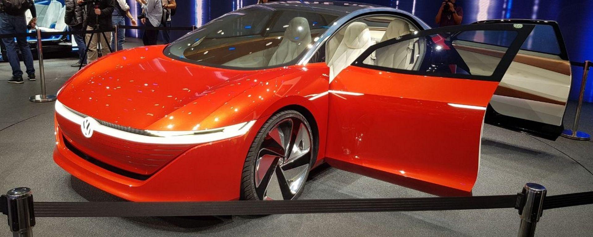 Volkswagen I.D. Vizzion Concept: in video dal Salone di Ginevra 2018