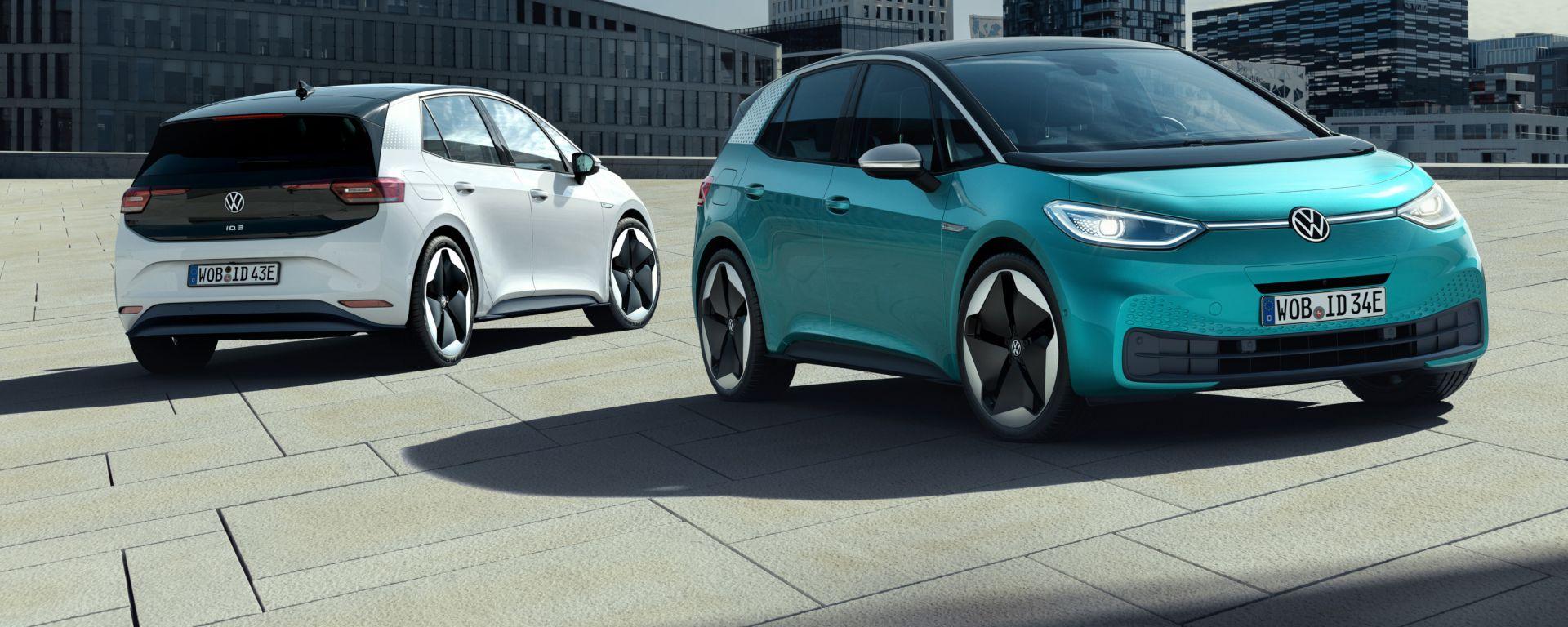 Volkswagen ID.3 1ST: via agli ordini dal 17 giugno