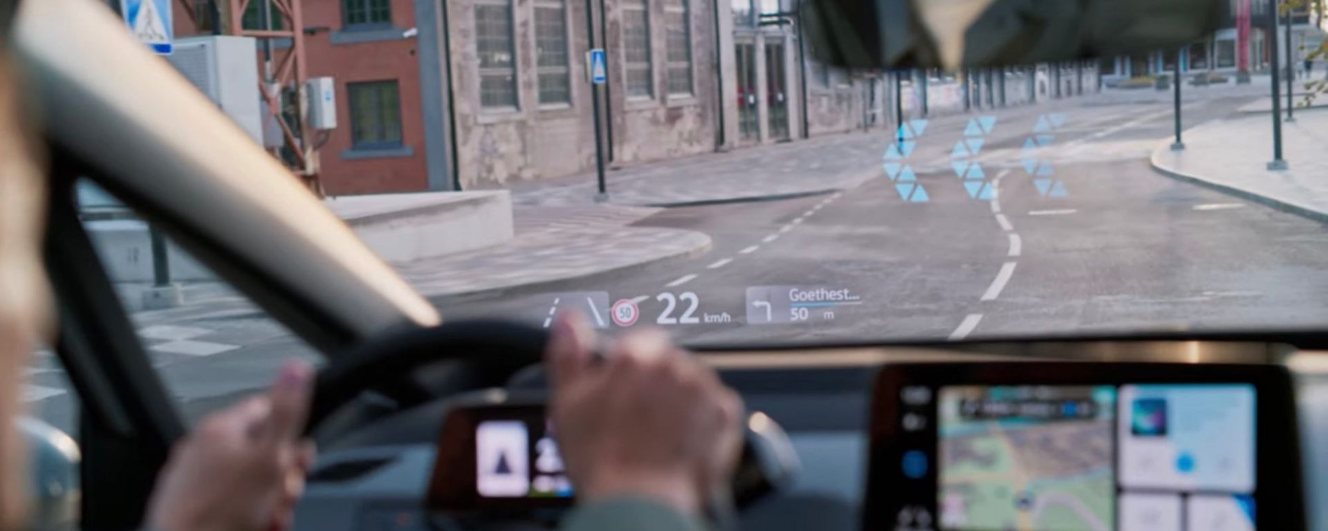 Volkswagen ID.3 2020: head-up display evoluto