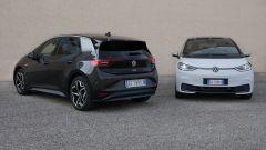Volkswagen ID.3, 3/4 posteriore e frontale