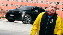 Volkswagen ID.3: la (contro) prova di Ernesto Carbone. Il video