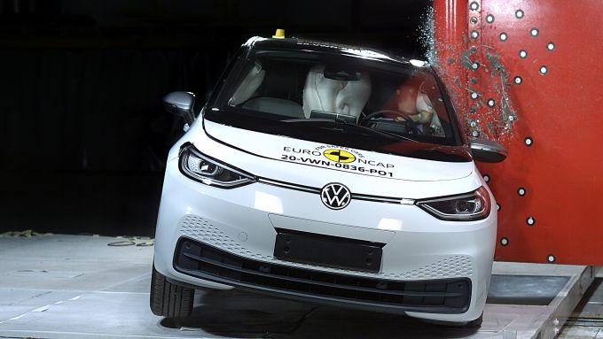 Volkswagen ID.3: i risultati dei crash test di Euro NCAP