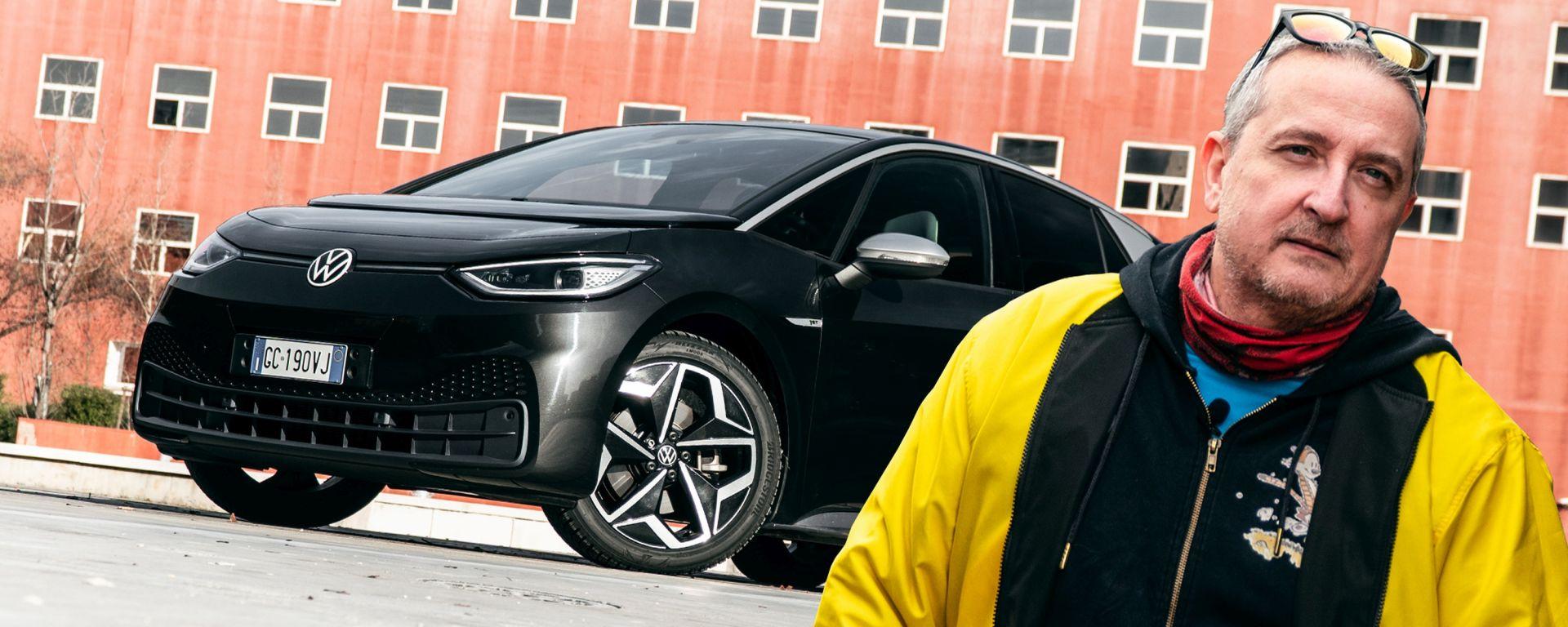 Volkswagen ID.3: la (contro) prova di Ernesto Carbone