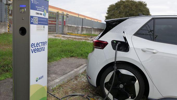 Volkswagen ID.3: la ricarica delle batterie