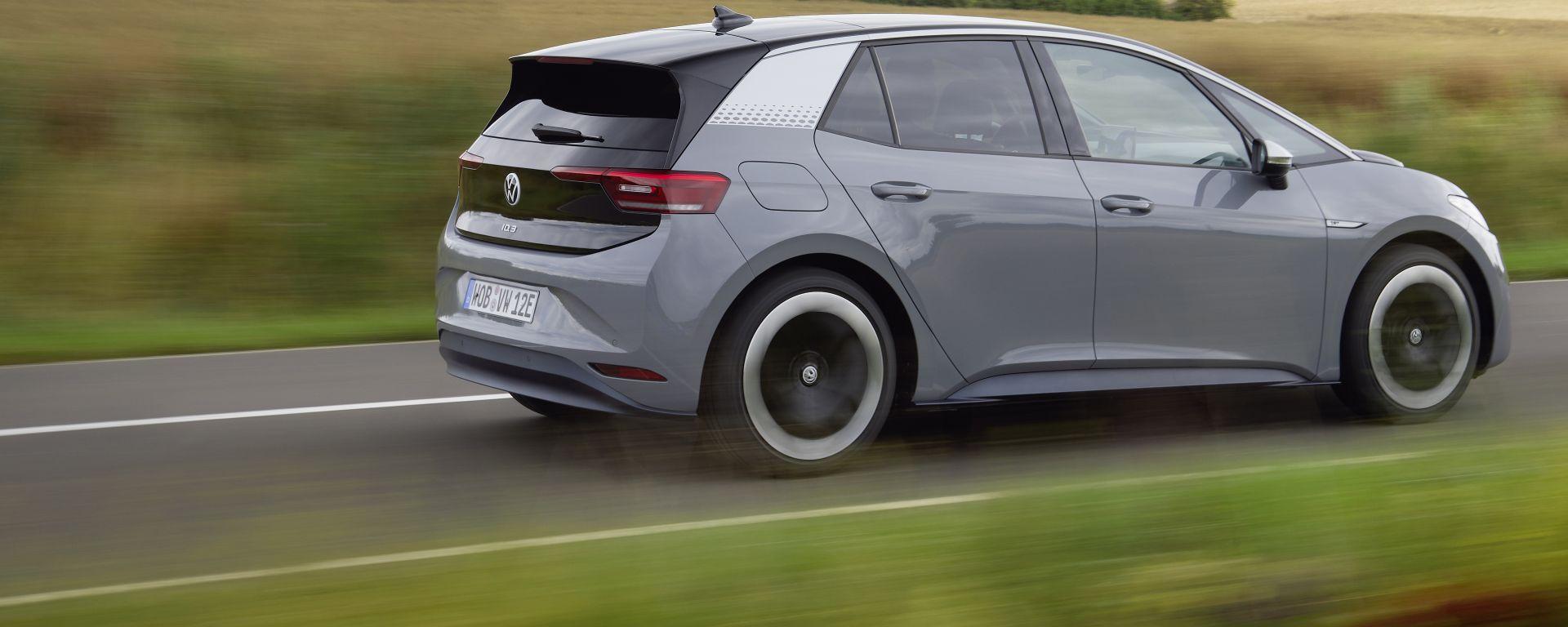 Volkswagen ID.3 più di 500 km con una sola ricarica