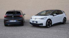 Volkswagen ID.3 posteriore e 3/4 frontale