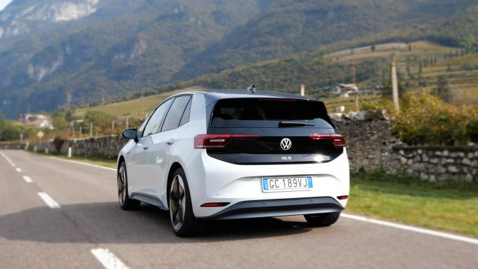 Volkswagen ID.3, silenzio assoluto