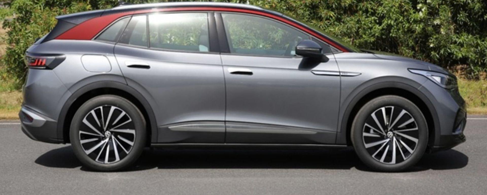 Volkswagen ID.4 2021, verniciatura bicolore