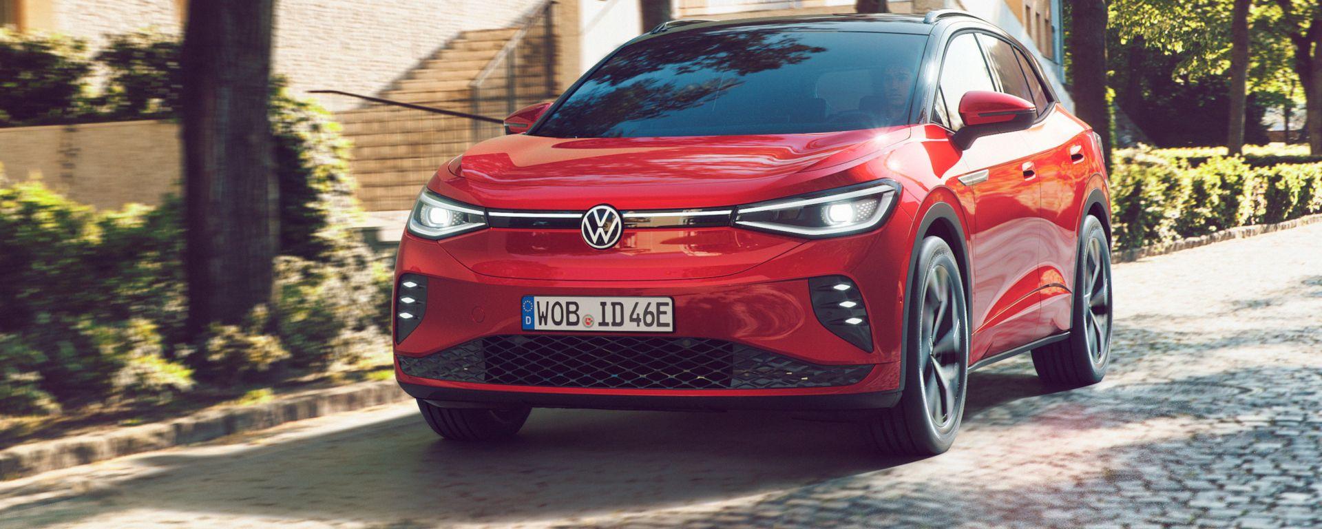 Volkswagen ID.4 GTX, arriva anche in Italia il SUV elettrico da 300 CV