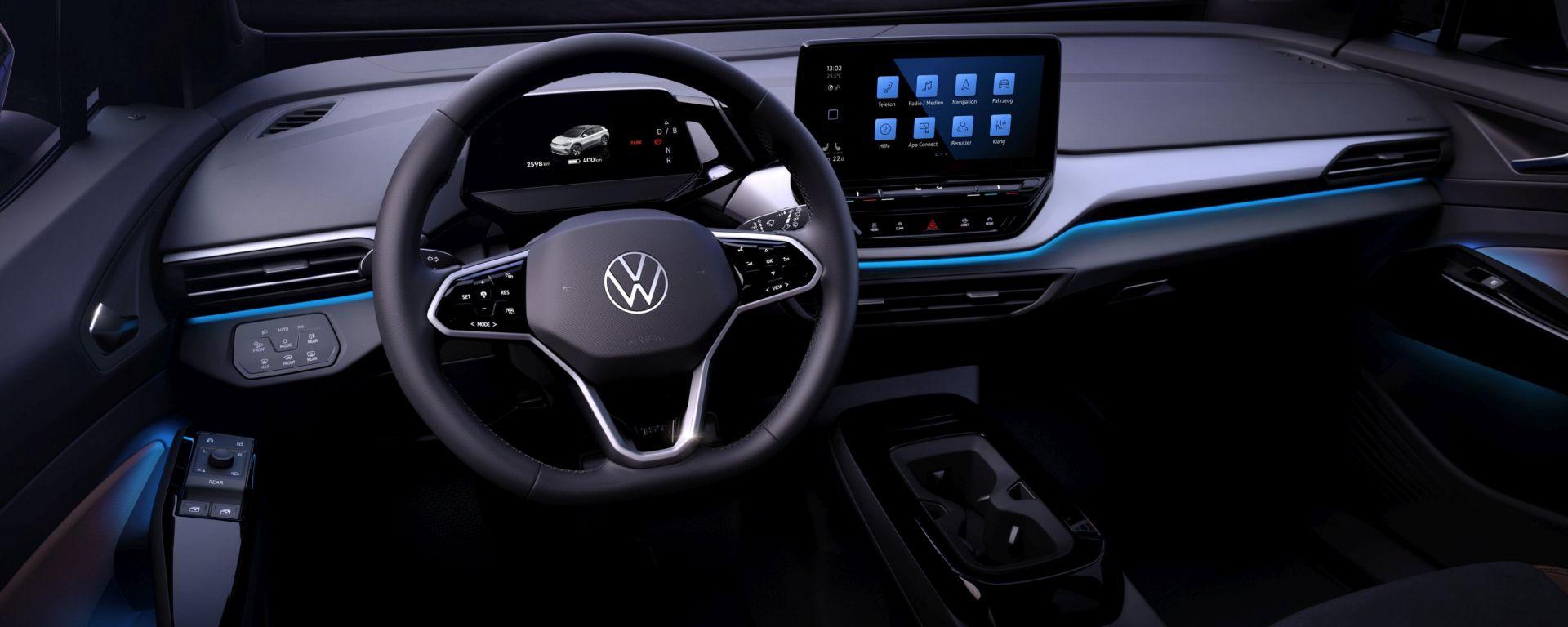 Volkswagen ID.4: il posto guida