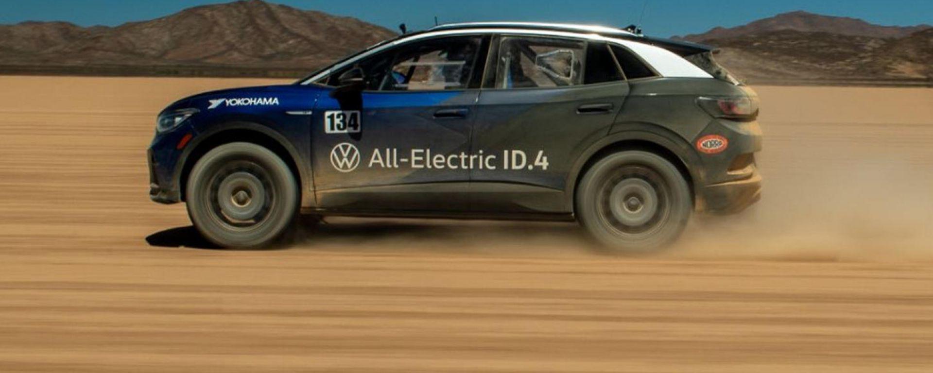 Volkswagen ID.4 Norra Mexican 1000: il SUV 100% alla maratona off-road