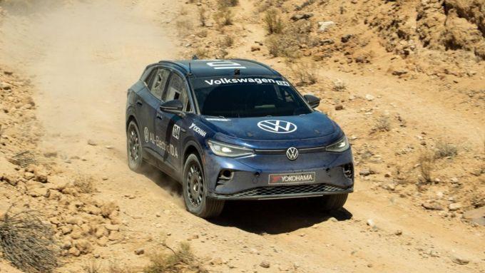 Volkswagen ID.4 Norra Mexican 1000: oltre 1.400 km massacranti in fuoristrada