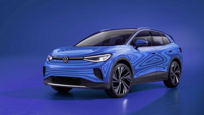Volkswagen ID.4: visuale di 3/4 anteriore