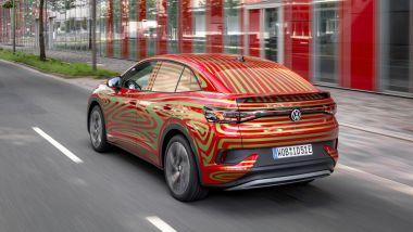Volkswagen ID.5 concept: visuale di 3/4 posteriore