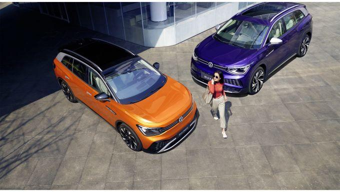 Volkswagen ID.6: in arrivo (per adesso solo in Cina) il terzo modello elettrico della Casa tedesca