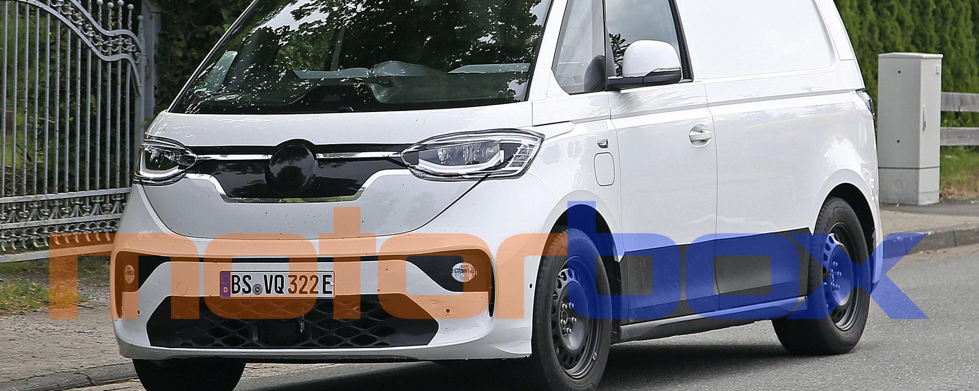 Volkswagen ID.Buzz 2022: ecco il primo prototipo