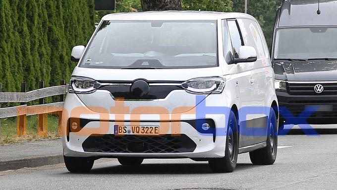 Volkswagen ID.Buzz 2022: le prime foto spia