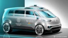 Van Volkswagen ID.Buzz a guida autonoma (2025): cosa c'è di vero