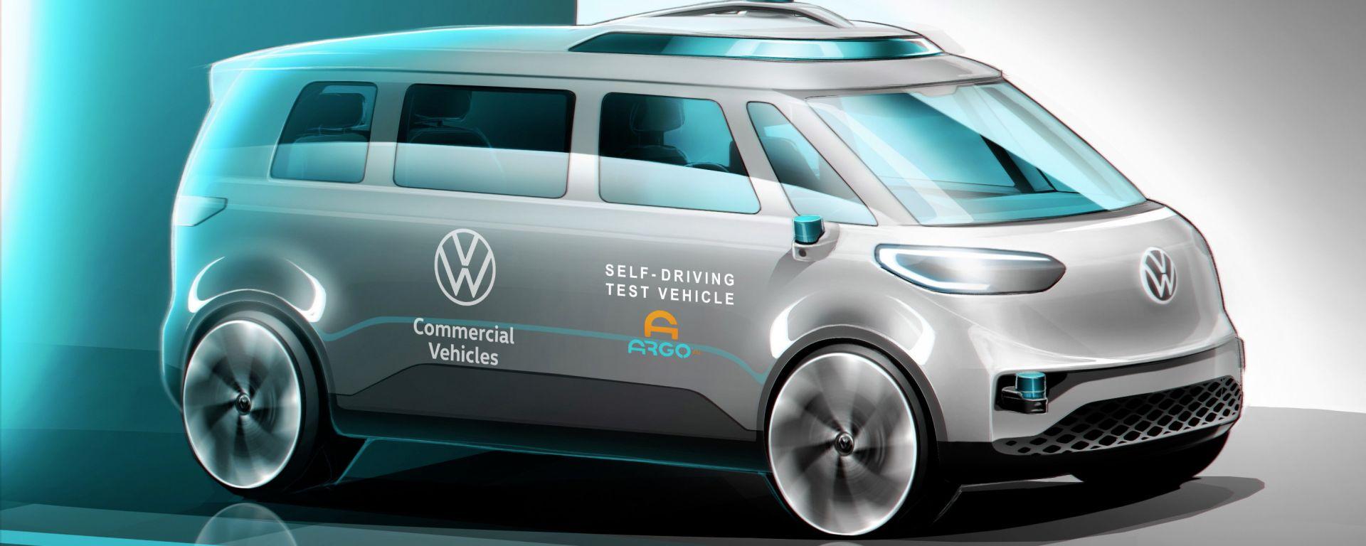 Volkswagen ID.Buzz: la prima VW a guida autonoma sarà un van commerciale