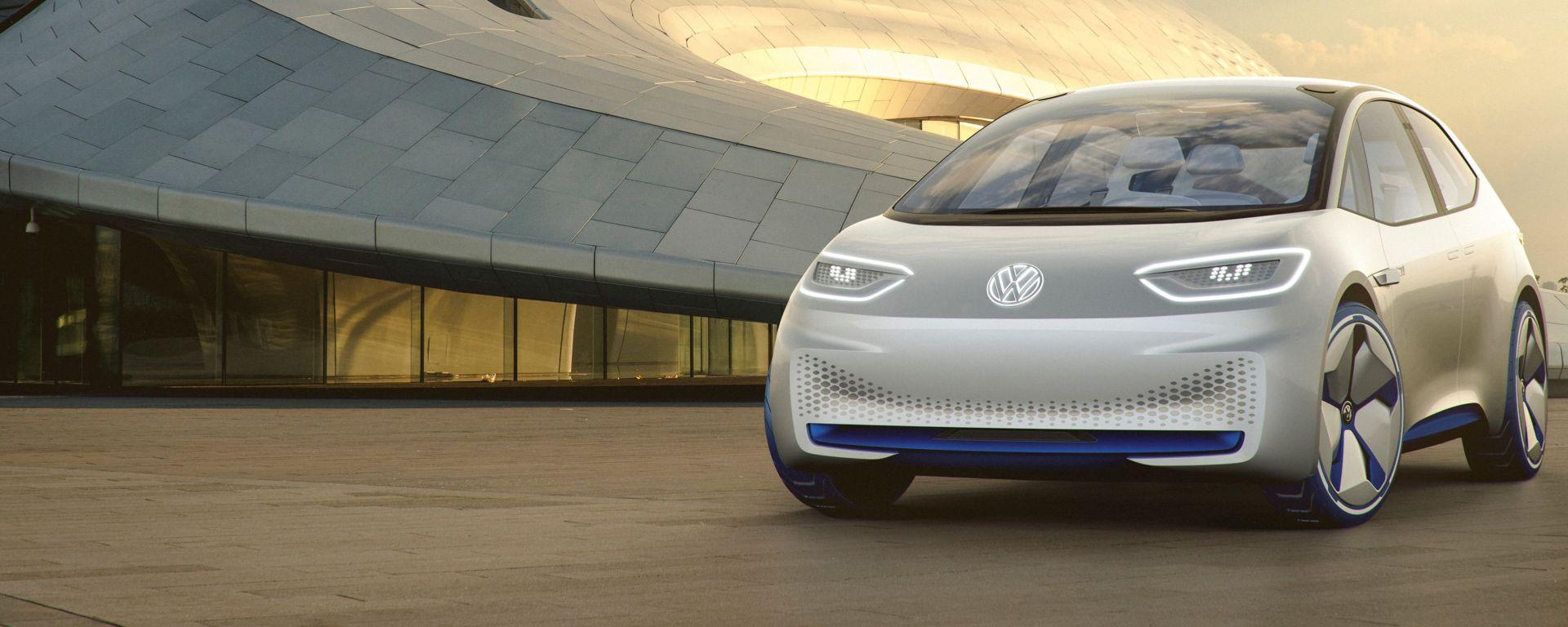 Volkswagen ID.Concept: vista frontale