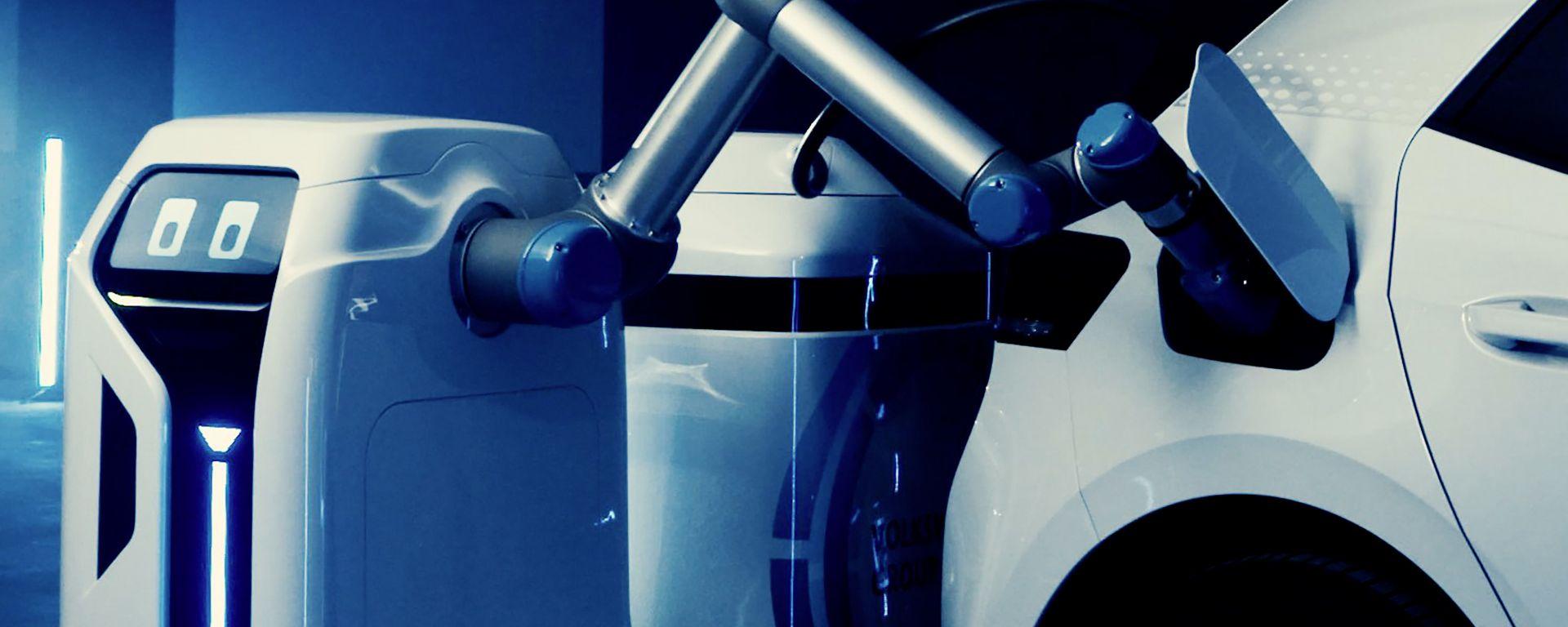 Volkswagen, il caricabatterie robot sarà presto realtà