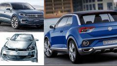 Volkswagen: la nuova Polo, il suv T-Roc e la nuova Touareg nel 2017