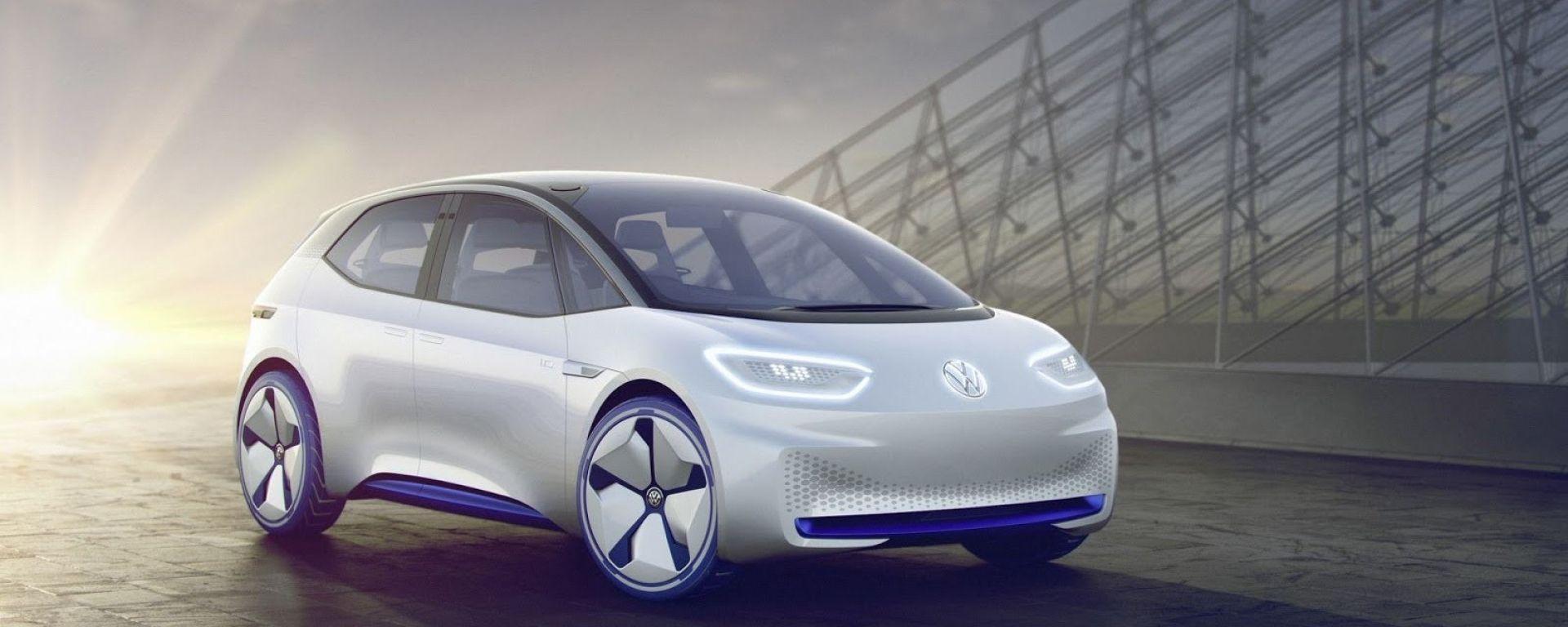 Volkswagen: le elettriche ID avranno lo stesso prezzo del diesel