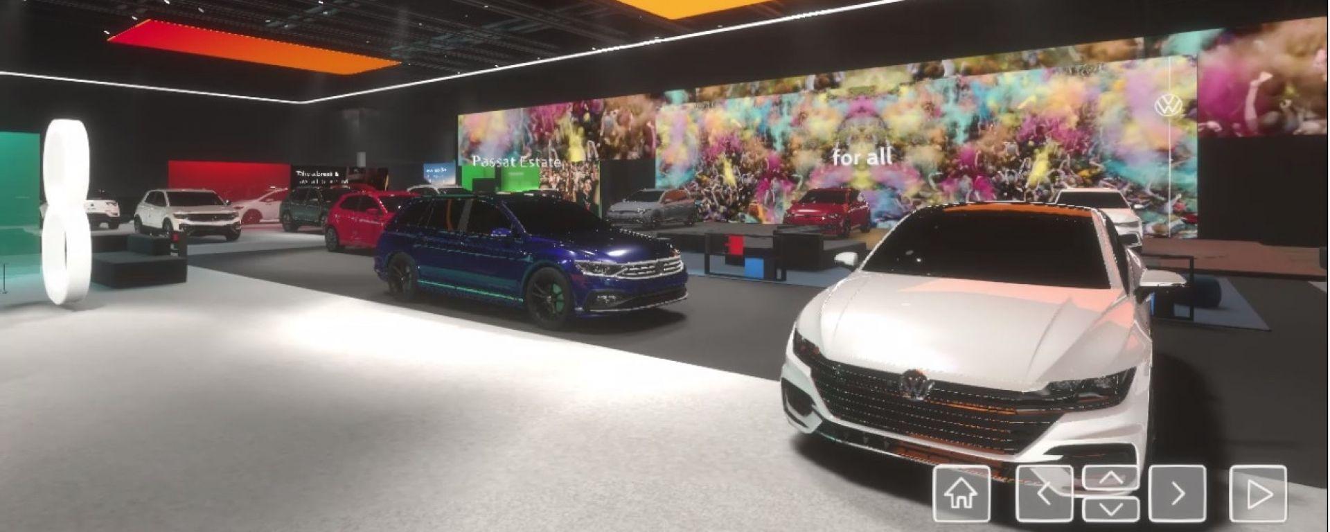 Volkswagen, lo stand virtuale del Salone di Ginevra 2020: tutto da navigare