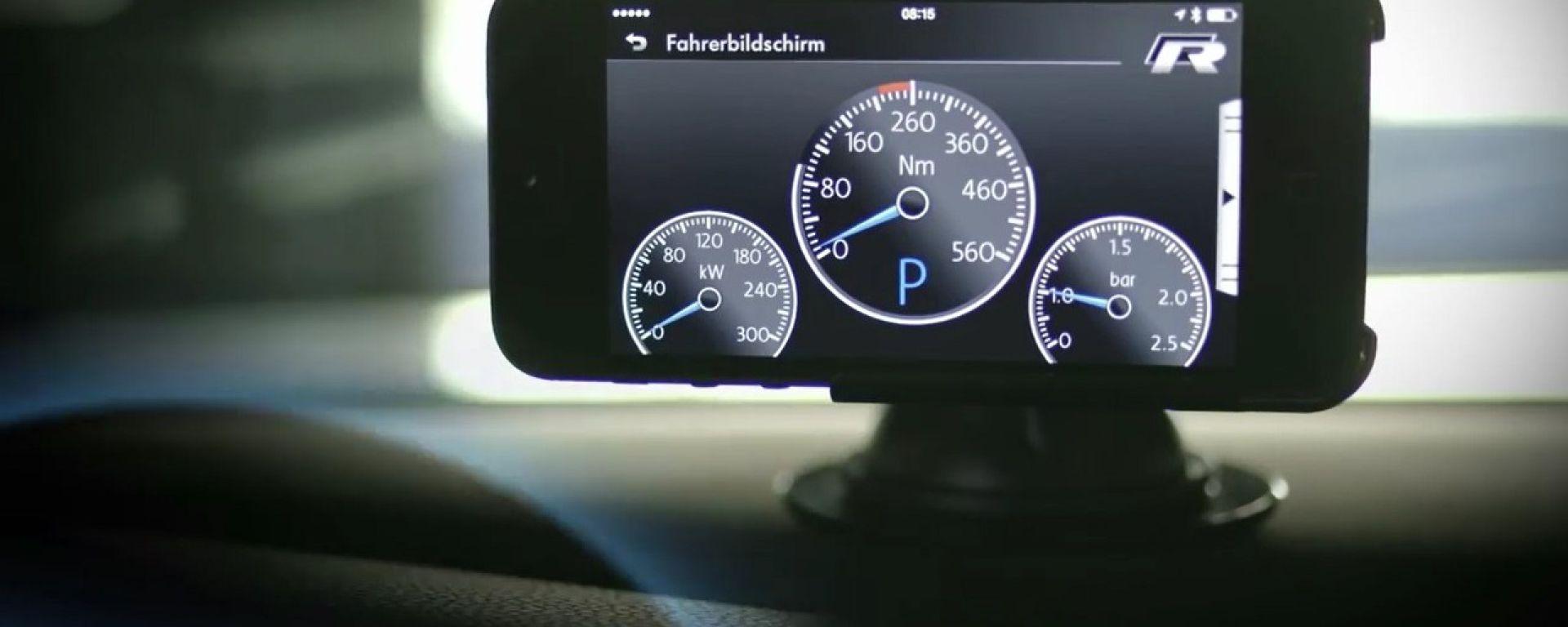 Volkswagen LogBox e Race app