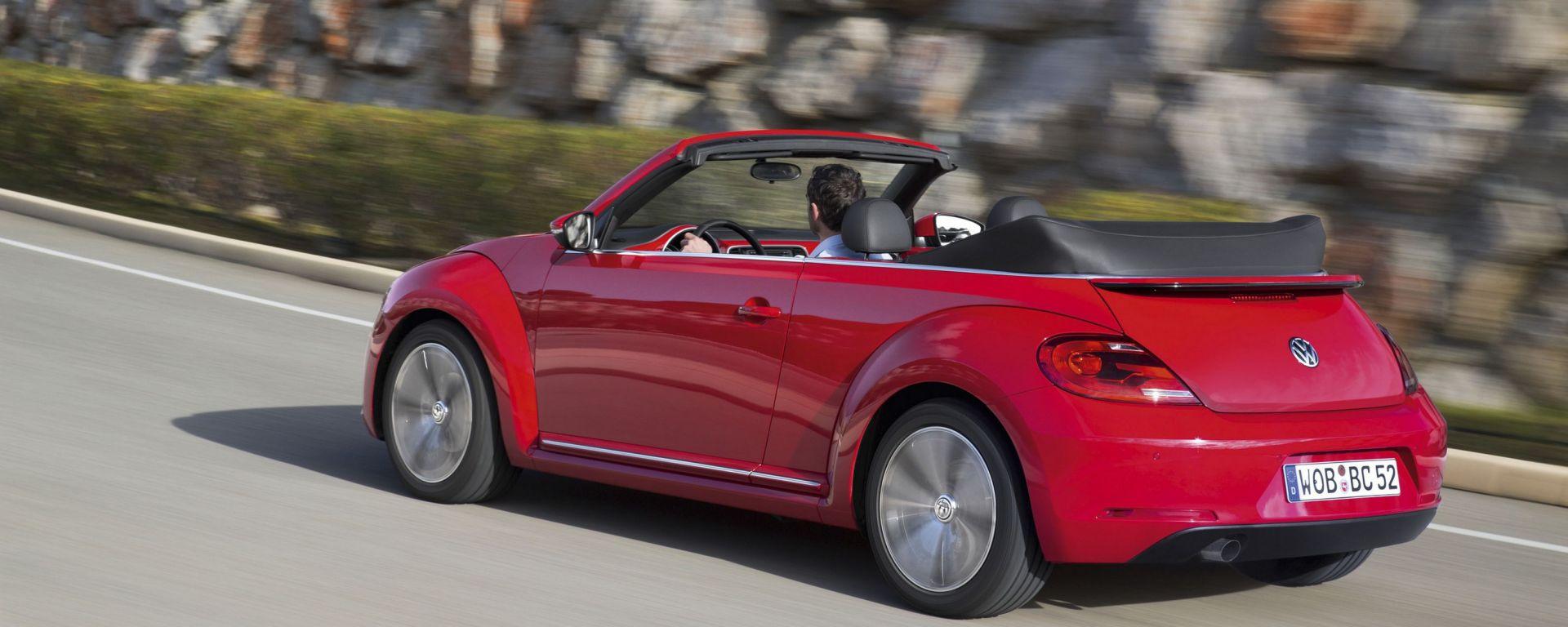 Prova  Volkswagen Maggiolino Cabriolet - MotorBox e3bdfeeaa0b0
