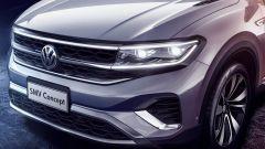Volkswagen maxi SUV EV: un dettaglio della zona anteriore del concept SMV