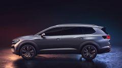 Volkswagen maxi SUV EV: una vista di profilo del concept SMV