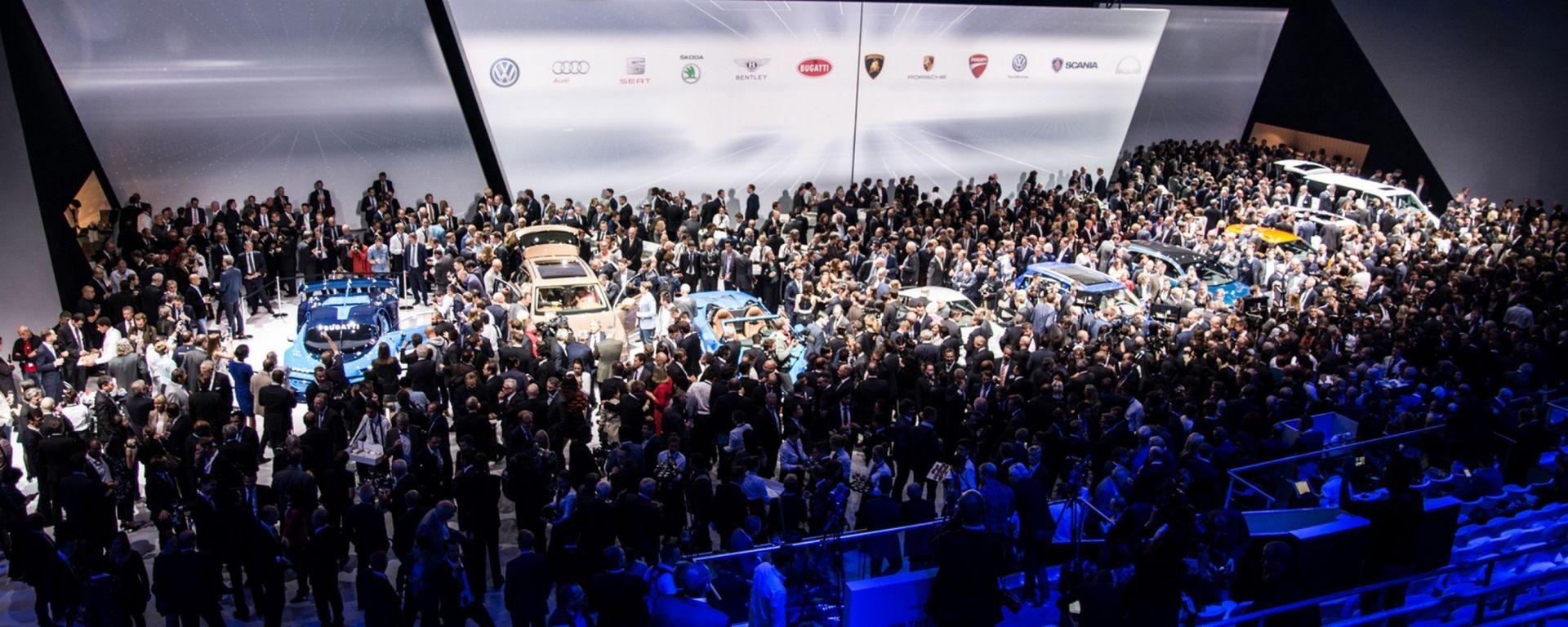 Volkswagen Night Francoforte, diretta streaming dalle 19.45