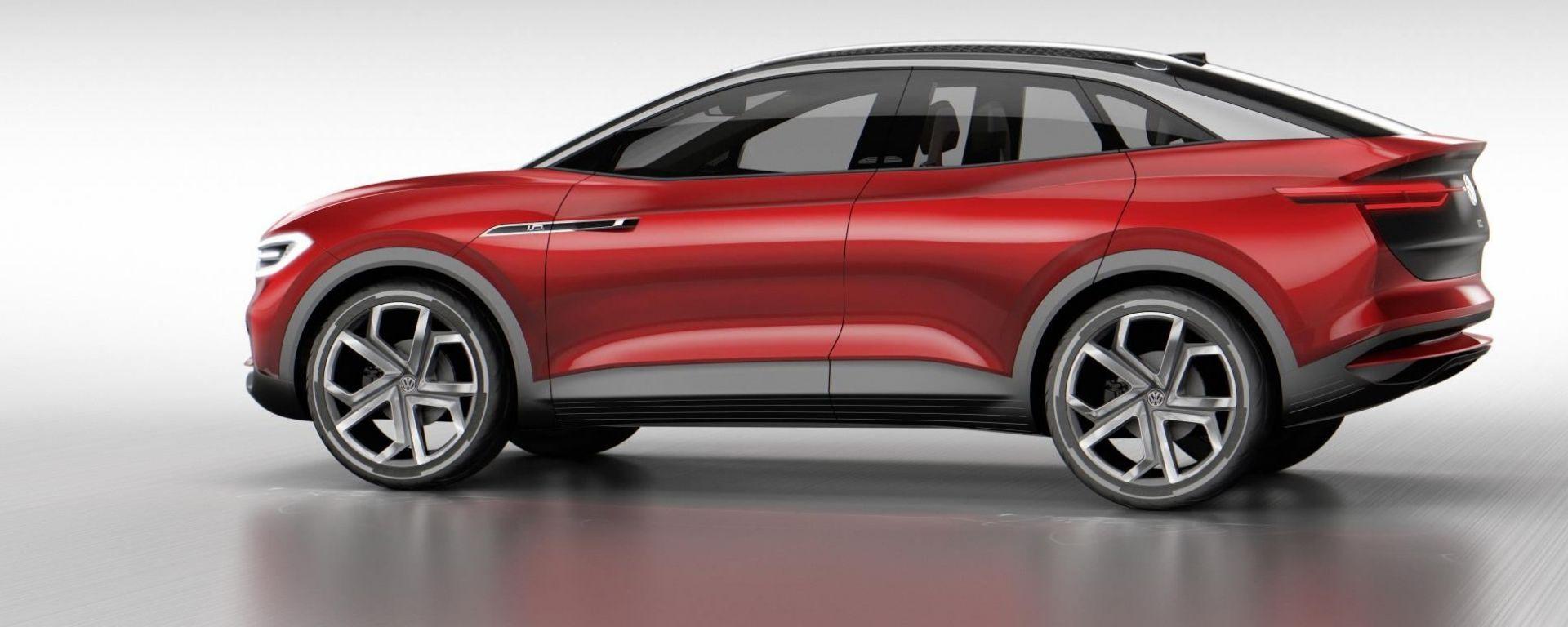 Volkswagen: oltre alla ID Crozz, un terzo SUV elettrico