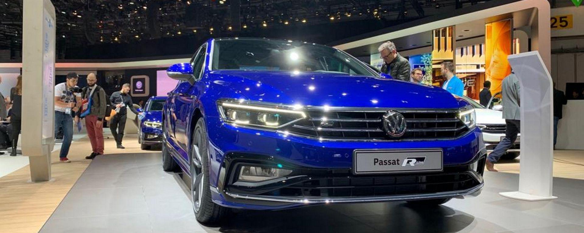 Volkswagen Passat 2019: eccola, con Diesel più ecologici