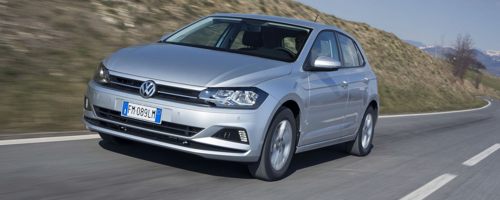 Volkswagen Polo 1.0 TGI, il metano ti da una mano