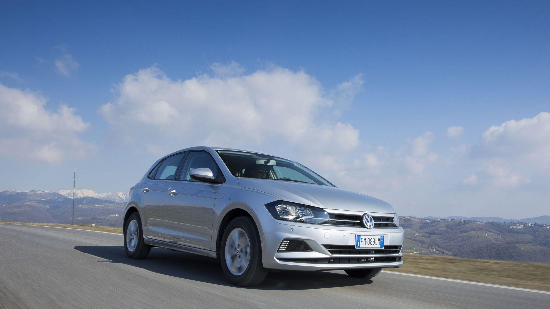 Nuova volkswagen polo 1.0 tgi: prova comsuni prezzi dellauto a