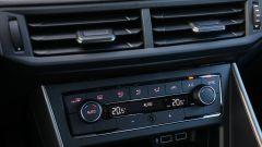 Volkswagen Polo 2017: i comandi del climatizzatore bi-zona opzionale