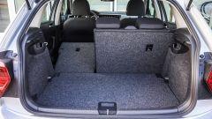 Volkswagen Polo 2017: il bagagliaio va da 351 a 970 litri di capacità