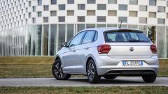 Volkswagen Polo 2017: vista 3/4 posteriore