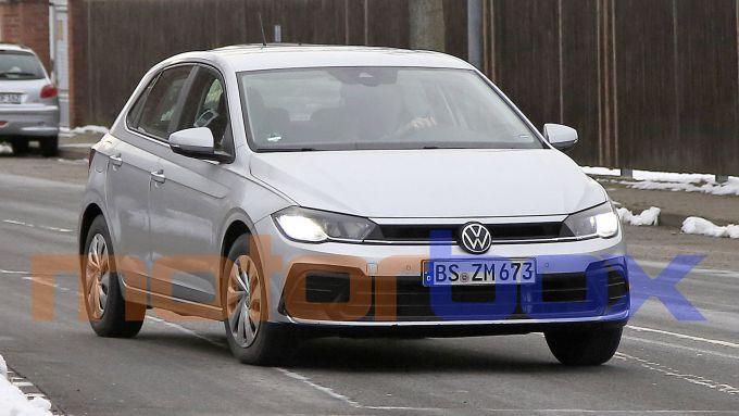 Volkswagen Polo 2021: visuale di 3/4 anteriore