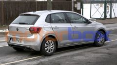 Volkswagen Polo 2021: visuale di 3/4 posteriore