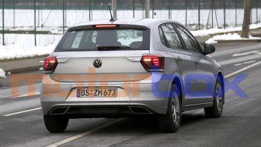 Volkswagen Polo 2021: visuale posteriore
