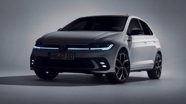 Volkswagen Polo GTI 2021, la striscia luminosa che unisce i fari anteriori