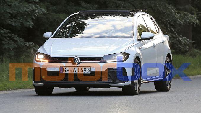 Volkswagen Polo GTI 2021: le foto spia
