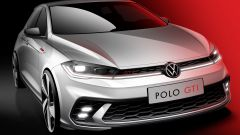 Volkswagen Polo GTI 2021, primo sketch