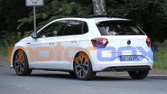 Volkswagen Polo GTI 2021: visuale di 3/4 posteriore