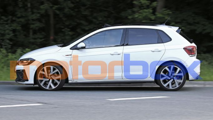 Volkswagen Polo GTI 2021: visuale laterale