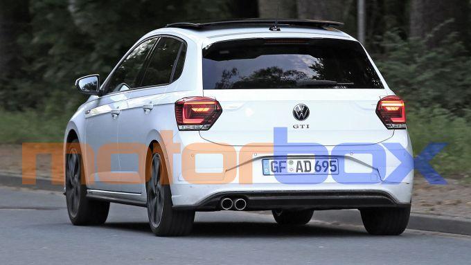 Volkswagen Polo GTI 2021: visuale posteriore