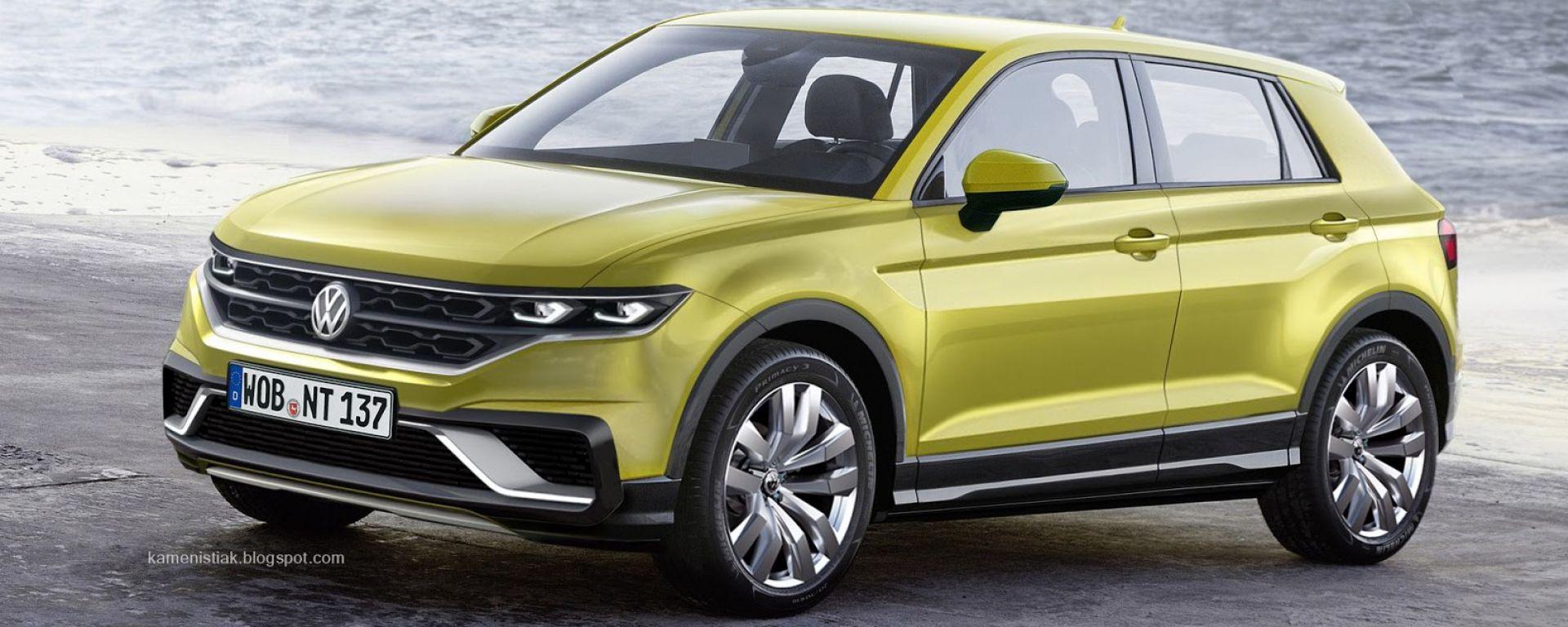 Volkswagen: la Polo con il suv intorno